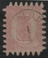 FINLANDIA 1866/70 - Yvert #9 - VFU - 1856-1917 Administración Rusa