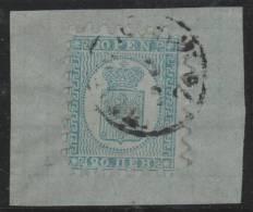 FINLANDIA 1866/70 - Yvert #8 - VFU (Sobre Fragmento) - 1856-1917 Administración Rusa