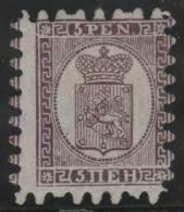 FINLANDIA 1866/70 - Yvert #11 - MLH * - Nuevos