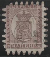 FINLANDIA 1866/70 - Yvert #11 - VFU - 1856-1917 Administración Rusa