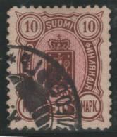 FINLANDIA 1888/95 - Yvert #35 - VFU - 1856-1917 Administración Rusa