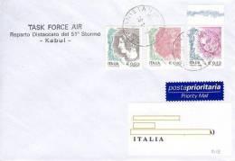 A279 - MISSIONI MILITARI DI PACE - ONU MISSIONS - UNITED NATIONS - ISAF AFGHANISTAN - TASK FORCE AIR 51° STORMO - 6. 1946-.. Repubblica