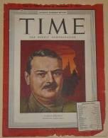 Time - Atlantic Overseas Edition -9 Dicembre 1946 - Libri, Riviste, Fumetti