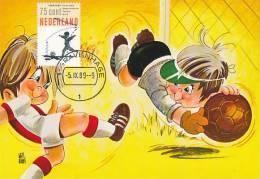 D11991 CARTE MAXIMUM CARD RR FD 1989 NETHERLANDS - SOCCER - SHIRT OF AJAX CP ORIGINAL - Famous Clubs