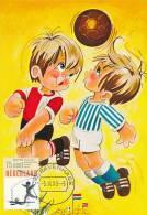 D11992 CARTE MAXIMUM CARD RR FD 1989 NETHERLANDS - SOCCER - SHIRT OF FEYENOORD CP ORIGINAL - Famous Clubs