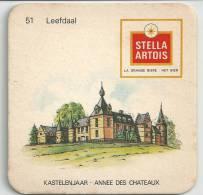 Stella Artois  Kastelenjaar  Leefdaal - Beer Mats