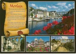 Carte Postale Photos Couleur MORLAIX Dans Le Finistere. Bretagne 29600 - Morlaix