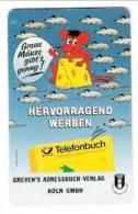 Deutschland - Germany - S 35A/92 - Grevens Adressbuch Verlag - Telefonbuch - Mouse - Maus - Germany