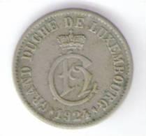 LUSSEMBURGO 5 CENTIMES 1924 - Lussemburgo