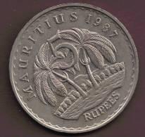 MAURITIUS 5 RUPEES 1987  Sir S.RAMGOOLAM - Mauritius