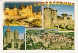 Carte Postale Photos Couleur CARCASSONNE Dans L'AUDE 11000 . - France
