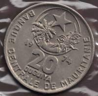 MAURITANIA 20 OUGUIYA AH1394_1974 - Mauritania