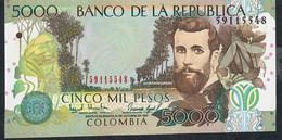 COLOMBIA P447a     5000   PESOS  12.10.1997    UNC. - Colombie