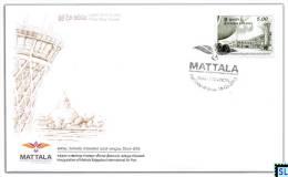 Sri Lanka Stamps 2013, Aviation, Mattala International Airport, Planes, FDC - Sri Lanka (Ceylon) (1948-...)