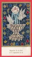 1968 - Souvenir De Communion Solennelle - 65 Mm X 112 Mm - - Religion & Esotérisme