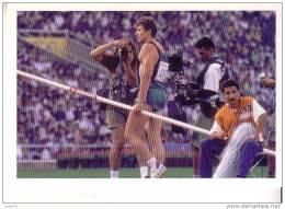 SERGEI BUBKA  Champion De Saut à La Perche  Jeux Olympiques De Barcelone En 1992  - D´après  Dominique Aubert  Sygma - Athlétisme