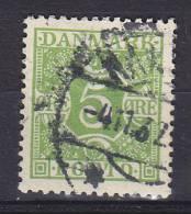 Denmark Porto Postage Due 1930 Mi. 20     5 Ø Ziffern Und Vier Kronen, Glatter Grund - Port Dû (Taxe)