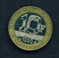 FRANCE - 1990 10f Circ As Scan - K. 10 Francs