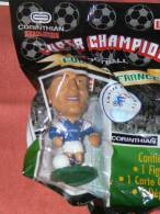 "FIGURINE  SPORT  FOOTBALL CORINTHIAN  ""SABRI  LAMOUCHI ""  EQUIPE DE FRANCE   1997  CLUB ALES MONACO AUXERRE  MARSEILLE - Figurines"