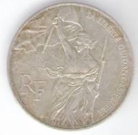 FRANCIA 100 FRANCS 1993 AG BICENTENAIRE DU MUSEE DU LOUVRE - Commemorative