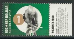 Nederland Netherlands Pays Bas 2012 Mi 2995 ** Leontien Zijlaard-van Moorsel -Olympic Games Sydney 2000-100 Jaar NOC*NSF - Cycling