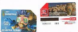 TELECOM ITALIA - C.& C. F3895 - 2004  104^ CARNEVALE DI SCIACCA TERME      -  USATA - Public Special Or Commemorative