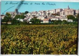 Carombe Vue Generale Eglise Village Beffroi  Vigne Ecrite +-1985 - France
