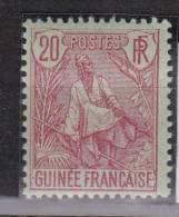 Guinée Française N° 24*, Neuf Avec Charniere