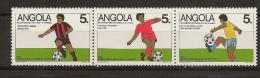 ANGOLA 1989  Football Games - Angola