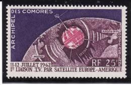 COMORES 1962 - Poste Aérienne N° 7 - Neuf** Sans Charnière - Aéreo
