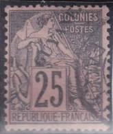 Guyane  N°23 Oblitéré - Opper-Senegal En Niger (1904-1921)