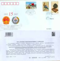 PFTN.WJ(C)-005 CHINA-UZBEKISTAN DIPLOMATIC COMM.COVER - Uzbekistan