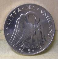Vatican PAPAL  PAUL VI 5  LIRE FDC   1972 - Vatican