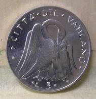 Vatican PAPAL  PAUL VI 5  LIRE FDC   1974 - Vatican