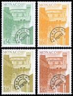 MONACO - 1977 - Tour De L'Horloge - 4v Neufs // Mnh - Préoblitérés