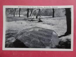 Oklahoma > Bartlesville First Commerical Oil Well---- -------------       Ref 870 - Bartlesville