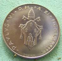 Vatican PAPAL  PAUL VI 100  LIRE FDC   1973   RARE - Vatican