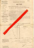 36 - VIJON - Extrait De Matrice Cadastrale De La Cne De VIJON Pour Le Sieur Vergne ( Comte De ) . - Documenti Storici