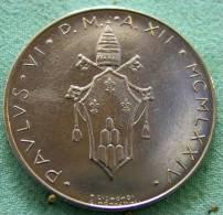 Vatican PAPAL  PAUL VI 100  LIRE FDC   1974   RARE - Vatican