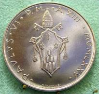 Vatican PAPAL  PAUL VI 100  LIRE FDC   1975   RARE - Vatican