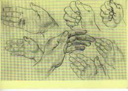 STUDY OF HANDS  VINCENT VAN GOGH  MUSEO DE AMSTERDAM  OHL - Fine Arts