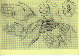 STUDY OF HANDS  VINCENT VAN GOGH  MUSEO DE AMSTERDAM  OHL - Bellas Artes