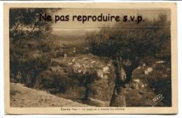 - CUERS - ( Var ) - Le Pays à Travers Les Oliviers, Ancienne, écrite, 1936, Très Bon état, Scans. - Cuers