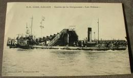 Calais - Sortie De La Dragueuse Les Ridens - Calais