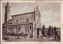 Chiesa  Di S.Antonio A Salsomaggiore Anni 50 (bn) - Italia