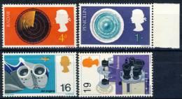 "1967 Great Britain MNH (**) Complete Set Of 4 Stamps "" British Discoveries"" Scott # 518-21 - 1952-.... (Elizabeth II)"