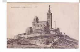 13 MARSEILLE Notre Dame De La Garde - Notre-Dame De La Garde, Funicolare E Vergine