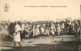 DJIBOUTI - Souvenir De Djibouti - Danse Des Somalis - Gibuti