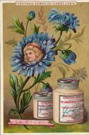 Chromo Liebig Dorée Fleur Bluet Bleuet - Liebig