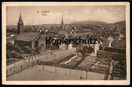ALTE POSTKARTE ST. INGBERT TOTAL SAAR SAARGEBIET Cpa Postcard AK Ansichtskarte - Saarpfalz-Kreis
